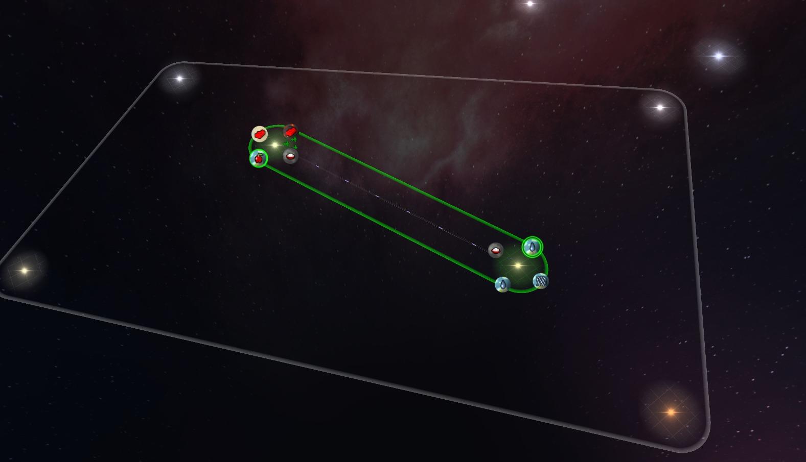 A single trade line.
